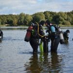 Te water gaan voor de Advanced Open Water