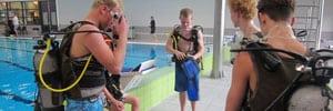 Proefles duiken of introductieduik